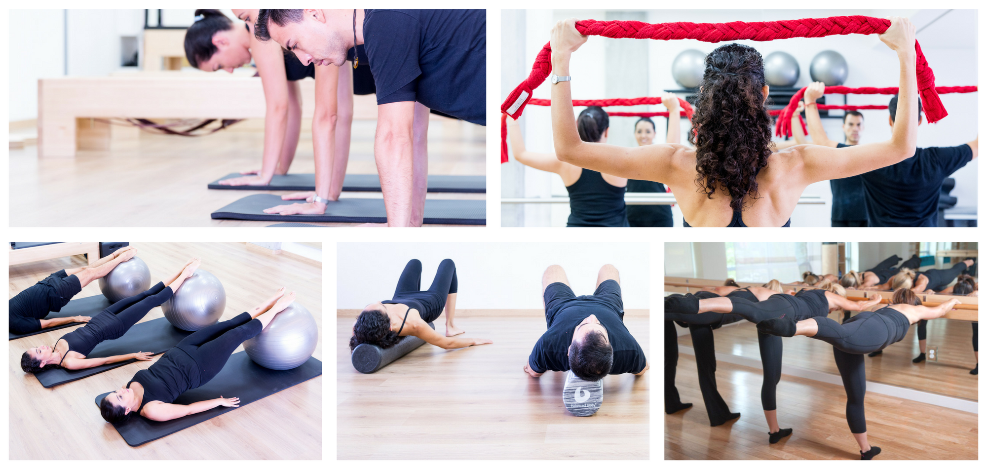 Clases grupales pilates cancun